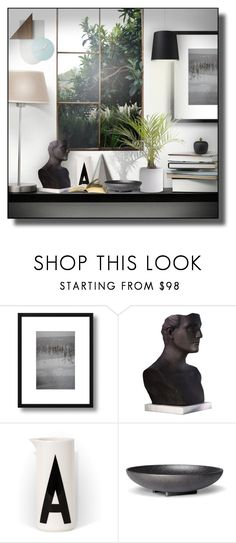 """""""#shelfie #5"""" by sally-simpson ❤ liked on Polyvore featuring interior, interiors, interior design, home, home decor, interior decorating, Global Views, Skeppshult, ELK Lighting and shelfie"""