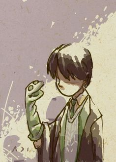 'Young Tom Riddle and his pal Basilisk' by adi-fitri