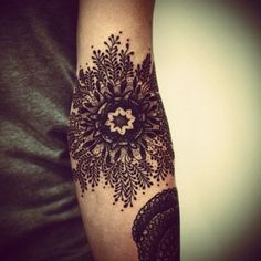 mandala arm tattoo - Google Search