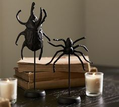 Faux Bugs on Stand #potterybarn