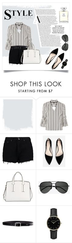 """#29 - Business Casual"" by alystyles12 ❤ liked on Polyvore featuring Topshop, Boohoo, MANGO, French Connection, Yves Saint Laurent, Lauren Ralph Lauren, ROSEFIELD and Chanel"