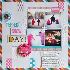 Perfect Snow Day ~Simple Stories~ - Scrapbook.com