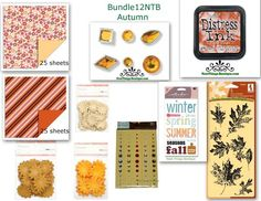 Autumn Scrap Bundle