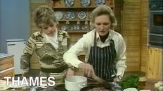 Mary Berry shows Judith Chalmers and the audience of Thames Televisions 'Good Afternoon' how to make a French Casserole and also a delicious pie! Mary Berry Baking, Mary Berry Cooks, Mary Berry Everyday, Delia Smith, Cornish Pasties, Heritage Recipe, Irish Stew, British Baking, Great British Bake Off