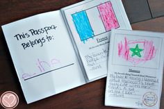 Printable passports you can create as you learn about different countries with your children.