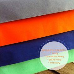 Zestaw pomponów, pompony, pompoms, kolory, colors, set