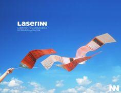 Scatto per presentare sui social la brochure Laserinn