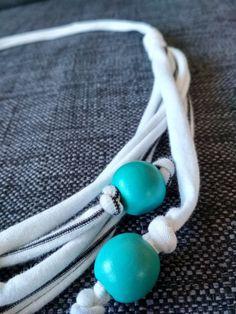 Hvit halskjede Turquoise Bracelet, Bracelets, Jewelry, Fashion, Bangles, Jewlery, Moda, Jewels, La Mode