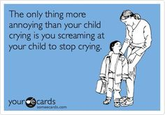 Both are equally annoying. Children should not be allowed in public. :)