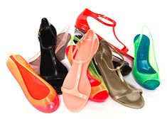 Grace K handbags and So K sandals by Kartell