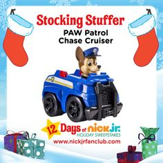 Stocking stuffer idea: Chase cruiser from the PAW Patrol!