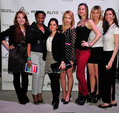 The Kelsey Wolfe Blog: GLOW fashion show after party!