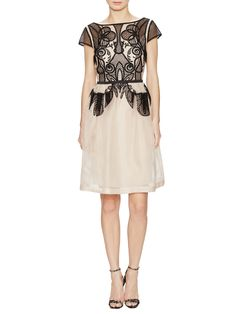 Maxime Silk Embroidered Lace Dress from Temperley London on Gilt