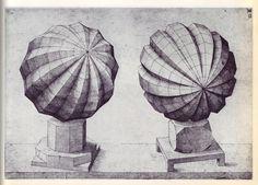 Perspectiva Corporum Regularium - Wenzel Jamnitzer 1568 k Geometric Solids, Geometric Shapes, Geometric Drawing, 3d Shapes, Ancient Greek Art, Math Art, Technical Drawing, Antique Books, Islamic Art