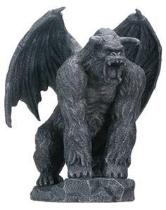 Gorilla King Gargoyle Statue - T75440