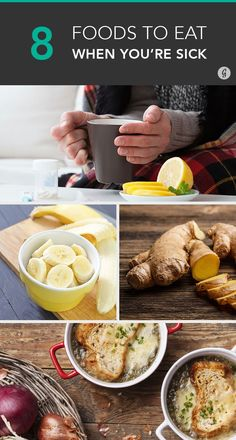 Eating these foods could help kick that cold right out of you! #sick #wellness #remedies
