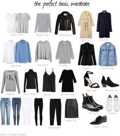 The perfect basic wardrobe
