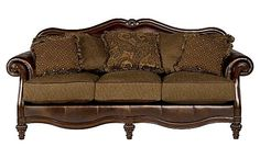 Claremore - Antique Sofa  A little more ornate than I was thinking about, but beautiful.