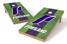 Portland Pilots Single Cornhole Board - Field