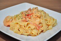 Fish Recipes, Pasta Recipes, Healthy Recipes, Mousse, Scampi Recipe, Spaghetti, Fabulous Foods, I Love Food, My Favorite Food
