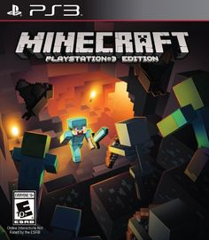 Discover the Minecraft - PlayStation Sony. Explore items related to the Minecraft - PlayStation Sony. Organize & share your favorite things (including wish lists) with friends. Minecraft Videos, Vídeos Minecraft, How To Play Minecraft, Mojang Minecraft, Ps4 Games For Kids, Ps3 Games, Playstation Games, Games Roblox, Play Stations