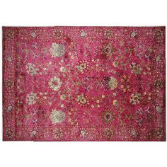 "RUG STUDIO 96"" x 60"" Andalusia Rug in Pink - Beyond the Rack"