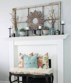 14 stunning farmhouse-style mantel ideas for any time of the year