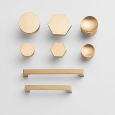 7 Places to Shop for Modern, Minimal Cabinet Hardware