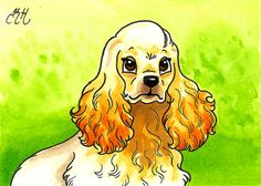 cartoon drawings of cocker spaniels | Recent Photos The Commons Getty Collection Galleries World Map App ...