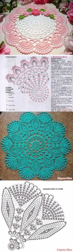 Two colour crocheted doily pattern Filet Crochet, Art Au Crochet, Mandala Au Crochet, Crochet Doily Diagram, Crochet Doily Patterns, Thread Crochet, Irish Crochet, Crochet Designs, Crochet Crafts
