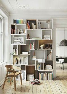 The Scandinavian Style Interior by Avenue Lifestyle; Muuto Stacked Shelf
