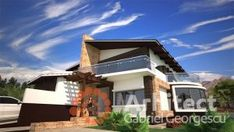 Casa cu etaj 48 Modern House Facades, Luxury House Plans, Facade House, Design Case, Home Fashion, House Design, Homes, Mansions, How To Plan