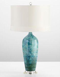 trellis ceramic table lamp - Google Search
