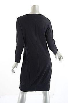 178a58ed7 James Perse short dress Black Cotton Terry on Tradesy James Perse, Black  Cotton, High