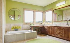 houzz_cedarhurst_masterbath.jpg - contemporary - Bathroom - Kailey J. Flynn Photography