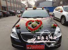 Image result for wedding car decoration