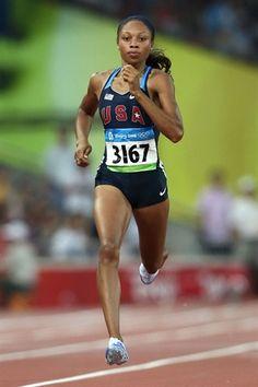Allyson Felix: At the Olympics - Track & Field Slideshows | NBC Olympics