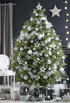 Deco Noel blanc | Xmas, Noel and Christmas tree