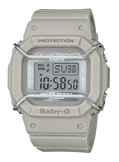 3bf26834c3718 Casio Baby-G Digital Grey Resin Ladies Sport Watch