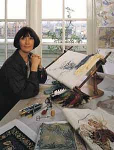 Beth Russell - Internationally respected interpreter of William Morris designs.