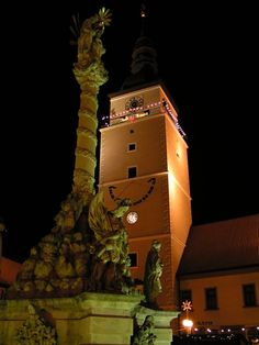 Trnava, Best places to visit in Slovakia Cool Places To Visit, Cool Pictures, Travelling, National Parks, Tower, Europe, City, Building, Historia