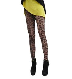 High Elastic Summer Leopard Mesh Women Leggings Pants CL0258 $12.87