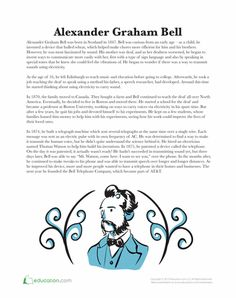 Best Upper Elementary Reading Images  Teaching Social Studies  Worksheets Alexander Graham Bell Alexander Graham Bell Science  Worksheets Upper Elementary Science