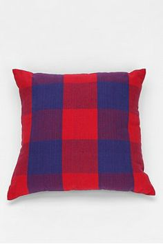 e0edc21c3b 4040 Locust Plaid Chambray Pillow Apartment Essentials