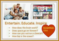 TONS of amazing, short, educational videos at your fingertips for kids - all on the iPad ~ LOVE Brainfeed!