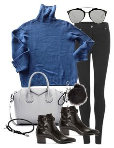 """""""Untitled #19531"""" by florencia95 ❤ liked on Polyvore featuring Cheap Monday, Louis Vuitton, Christian Dior, Givenchy, Yves Saint Laurent and David Yurman"""
