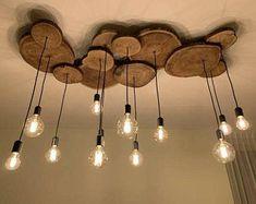 Home Interior Design, Interior Decorating, Rustic Home Design, Decorating Ideas, Rustic Home Interiors, Deco Luminaire, Wooden Chandelier, Wood Lamps, Foyer Chandelier