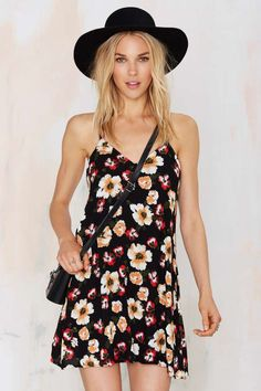 Gardenia Floral Dress