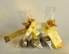 geschenke für hochzeitgäste-tee Blumen