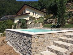 Dolcevita Gold - My WordPress Website Small Swimming Pools, Luxury Swimming Pools, Luxury Pools, Small Pools, Swimming Pools Backyard, Swimming Pool Designs, Backyard Pool Designs, Small Backyard Pools, Outdoor Pool